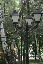 Улично осветление от ковано желязо по поръчка