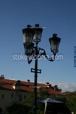 Улично осветление от ковано желязо по индивидуален проект