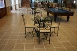 столове от ковано желязо за ресторанти по поръчка