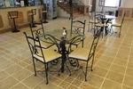 столове от ковано желязо за ресторанти зa мотел