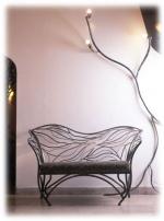 Поръчкова изработка на столове от ковано желязо