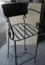 Изпълнение на индивидуални проекти за столове от ковано желязо