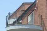 Парапет за балкон от ковано желязо