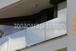 изработване на парапет от стъкло по поръчка за балкон