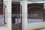 портални врати от ковано желязо