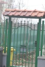 Изработка на порта с едно крило от ковано желязо