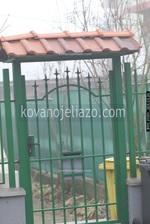 Еднокрили порти от ковано желязо